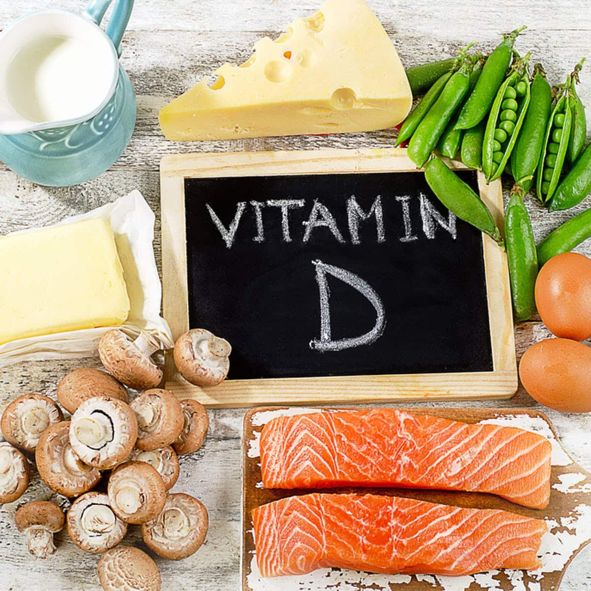 Vitamin d for strength, immunity and mood