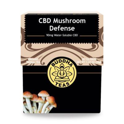 Buddha Teas CBD Mushroom Defense Tea