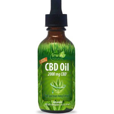 irwin naturals cbd oil 2000