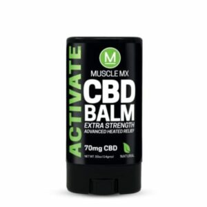 extra strength muscle mix cbd balm activate