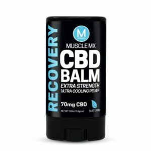 extra strength muscle mix cbd balm recovery
