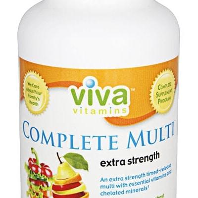 Viva Vitamins Complete Multi Extra strength 90 tablets