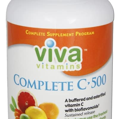online vitamin store viva vitamins complete c500