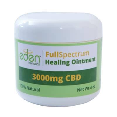 eden holistic full spectrum healing ointment 3000mg