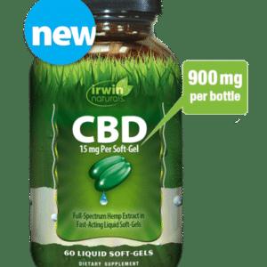 irwin naturals cbd softgel 900