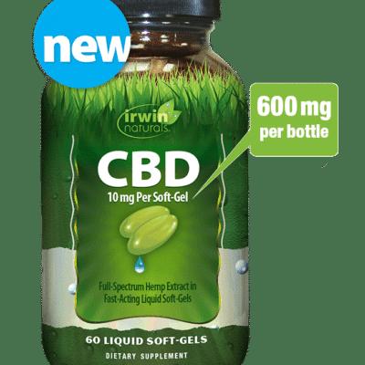 irwin naturals cbd softgel 600