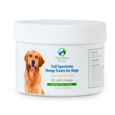 full spectrum hemp treats for dogs