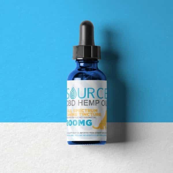 source cbd hemp oil pet tincture 200mg 1oz