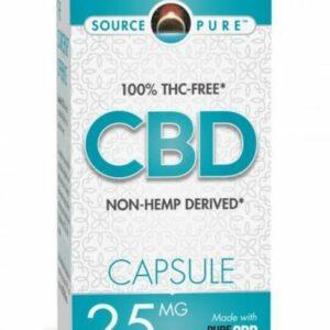 non-THC CBD capsules