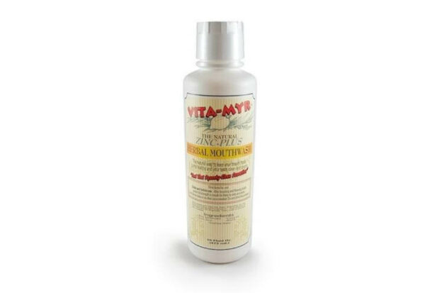 vita-myr zinc plus herbal mouthwash 16oz
