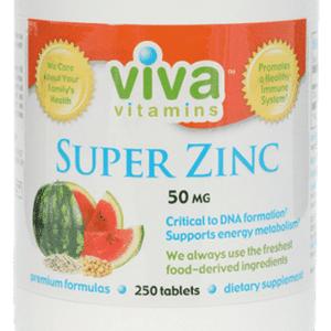 50mg super zinc viva vitamins online vitamin store