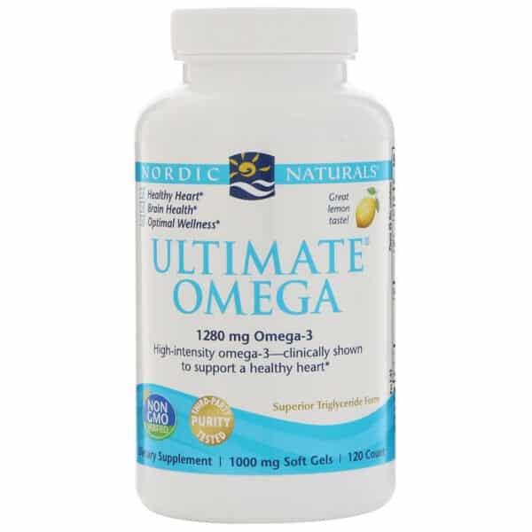 nordic naturals ultimate omega 120 softgels