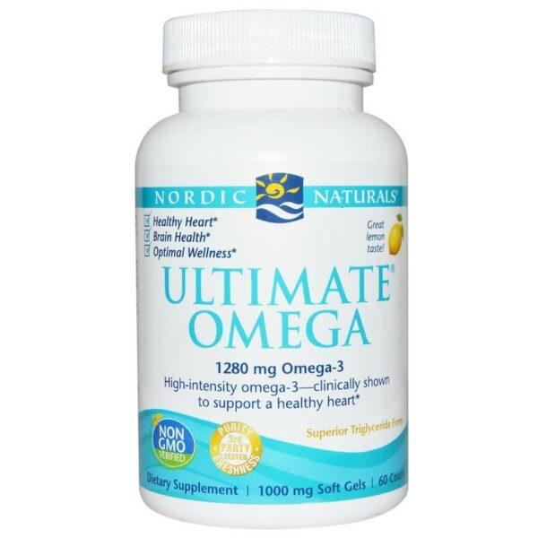 nordic naturals ultimate omega 60 softgels
