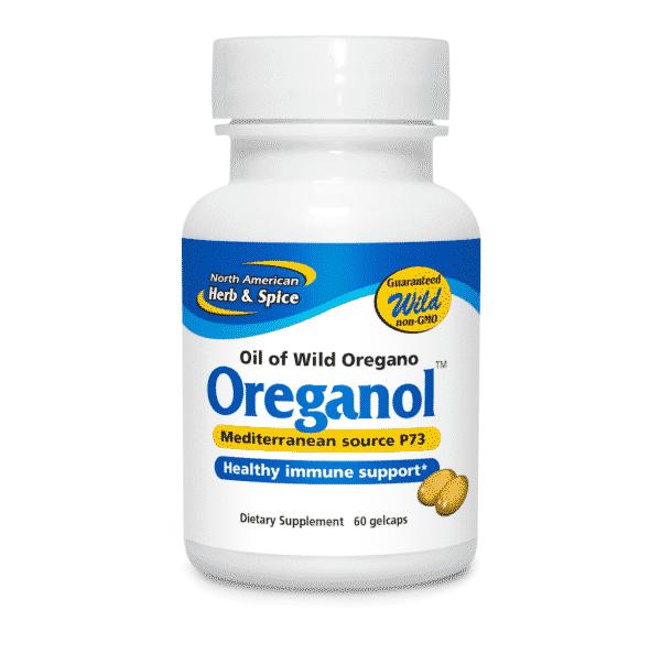 north american herb & Spice oreganol p73 60 softgels